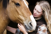 Girls and horse_38