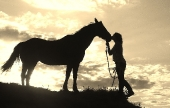 Girls and horse_45