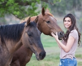 Girls and horse_53
